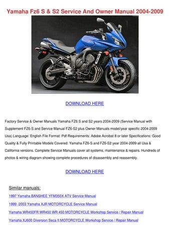 yamaha kodiak manual yfm400far free preview