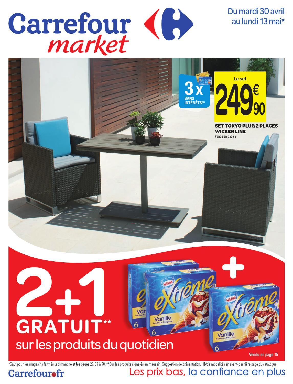 carrefour mai by proomo france issuu. Black Bedroom Furniture Sets. Home Design Ideas