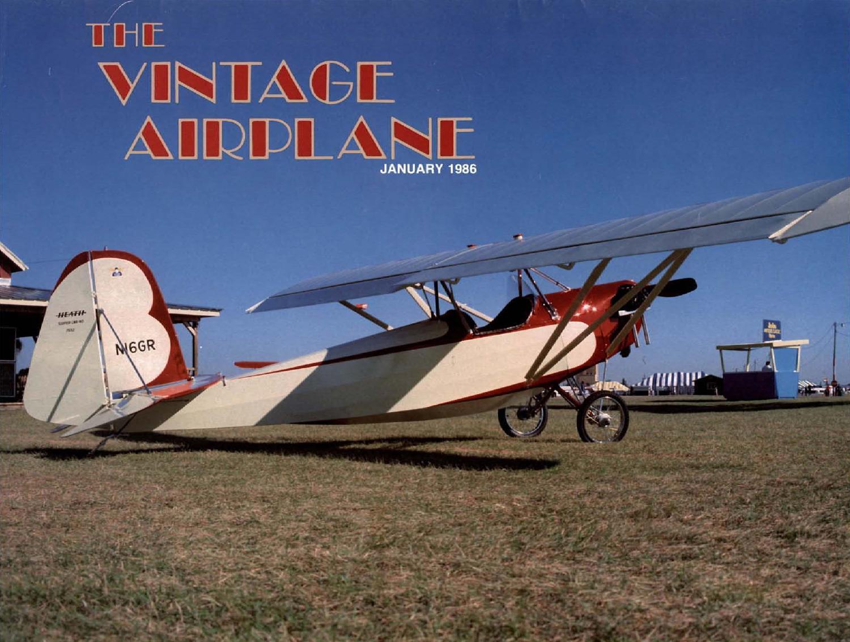 VA-Vol-14-No-1-Jan-1986 by EAA Vintage Aircraft Association