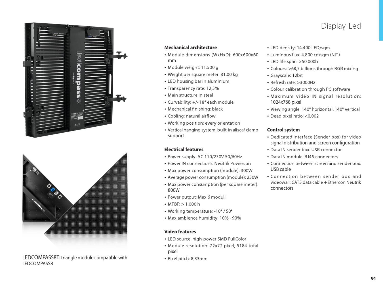 Catálogo da Prolights by Equistruere - Equipamentos