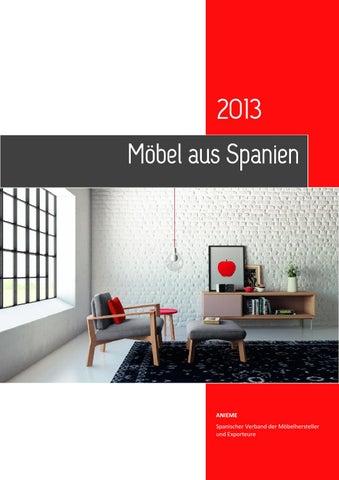 Möbel aus Spanien by FURNITURE FROM SPAIN - issuu