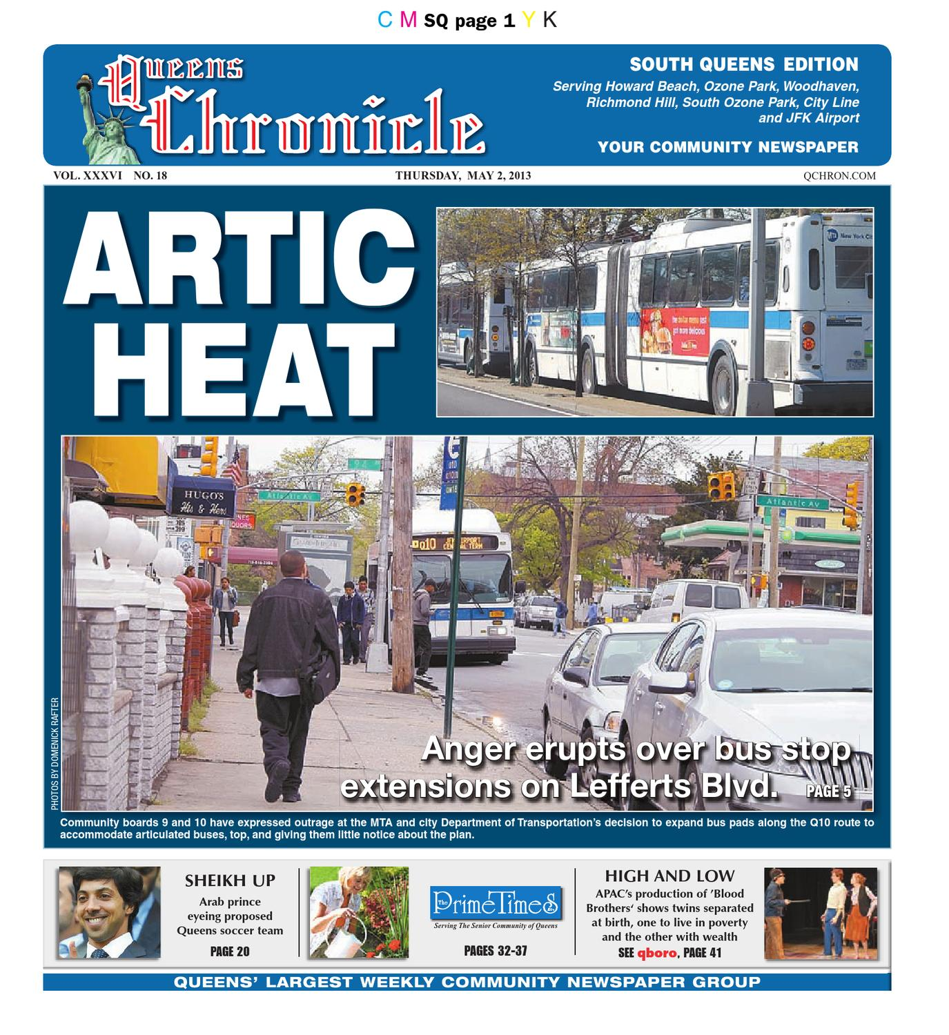 Queens Chronicle South Edition 05-02-13 by Queens Chronicle - issuu