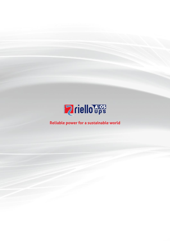 Riello Ups Ltd 2013 General Catalogue By Rebecca Blackwell Issuu 138 Volt 20 A Transformerless Power Supply Circuit Diagram