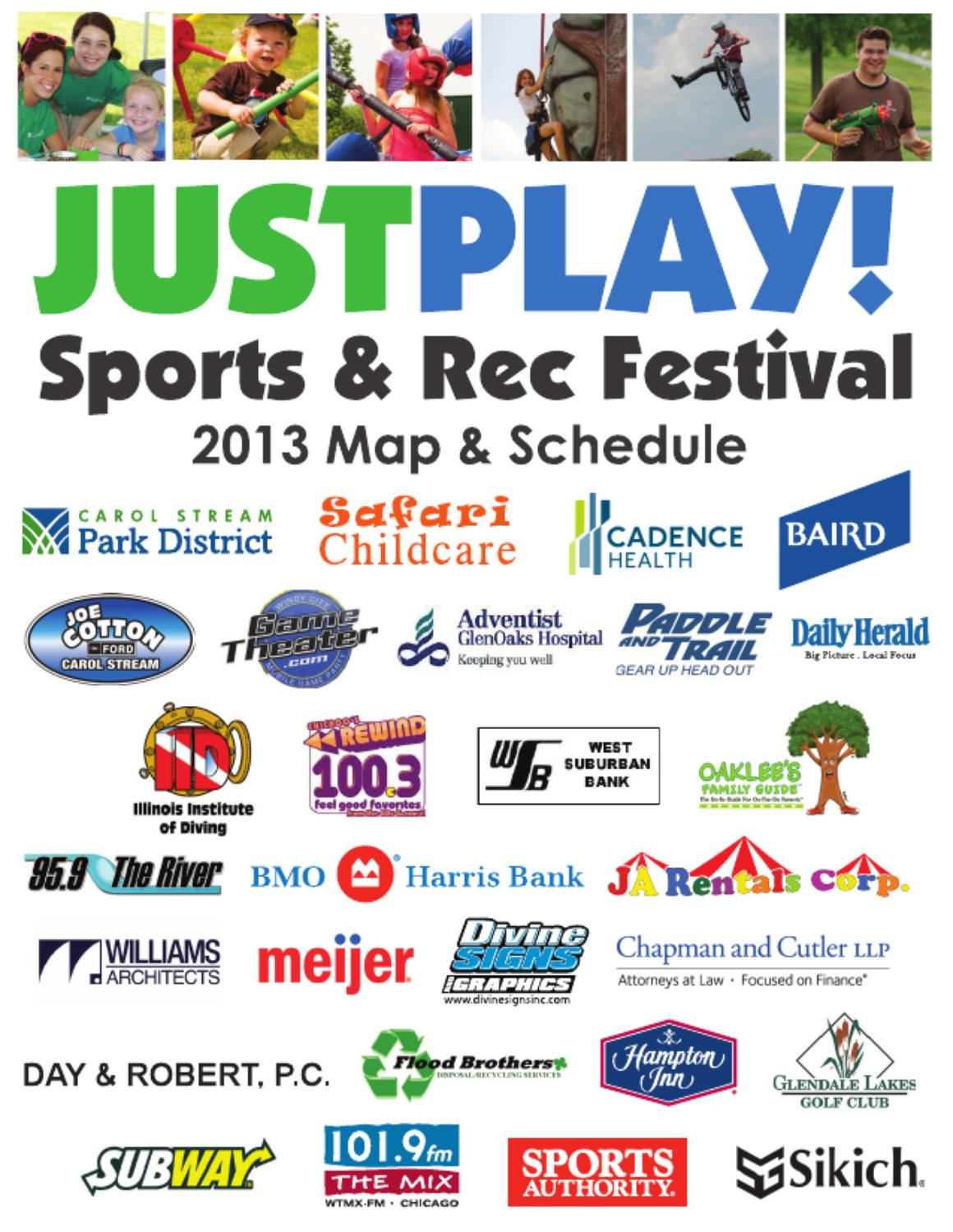 JustPlay! 2013 guide by Carol Stream Park District - issuu