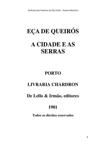 Ea de queirs by padeiros memorias issuu page 1 fandeluxe Images