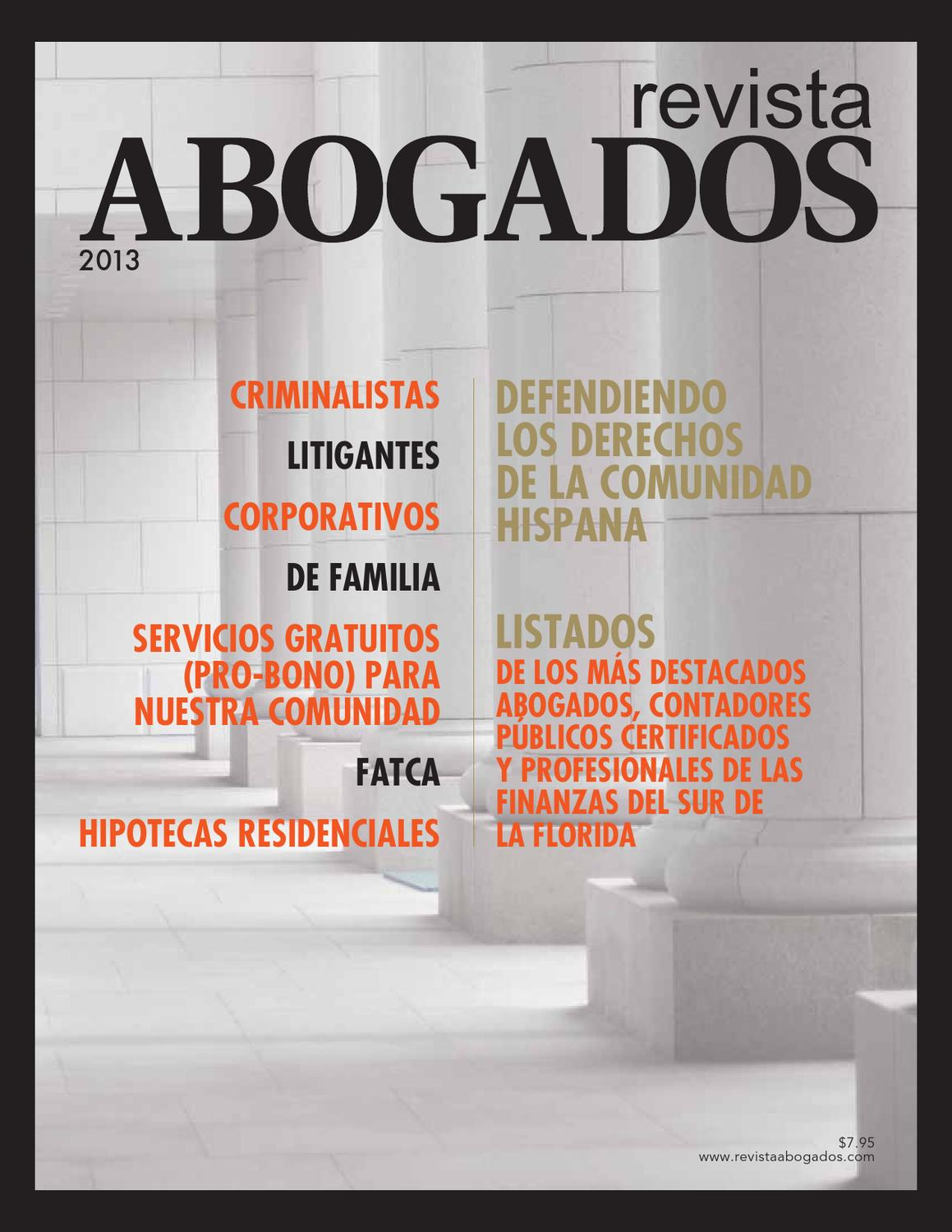 Revista Abogados by South Florida Legal Guide - issuu
