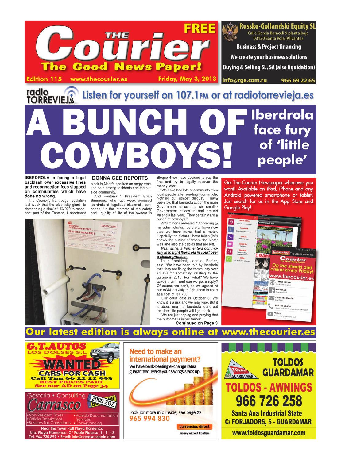 1f9cf748 The Courier Week 115 by The Courier Newspaper - issuu