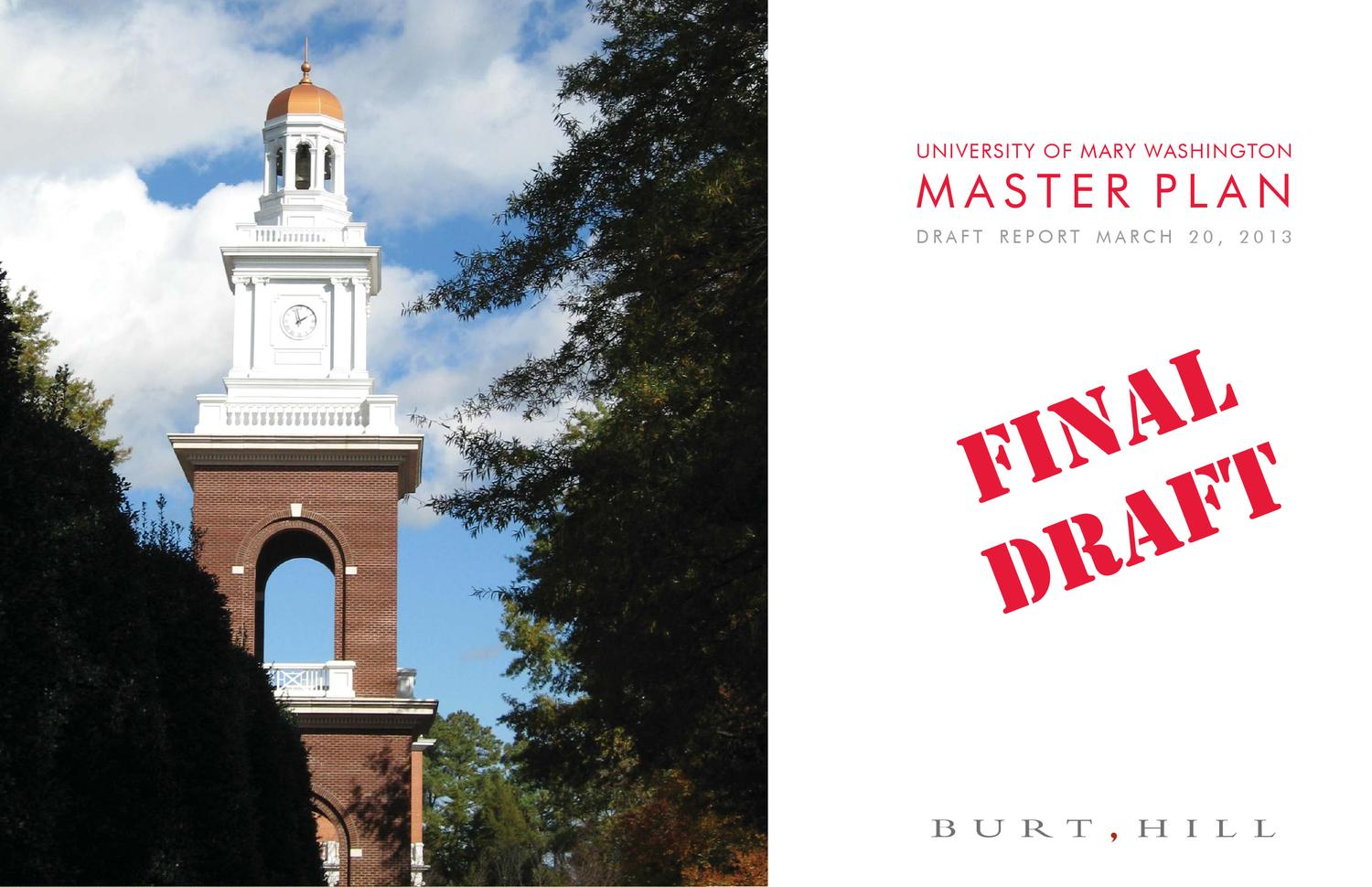 UMW Master Plan by University of Mary Washington issuu