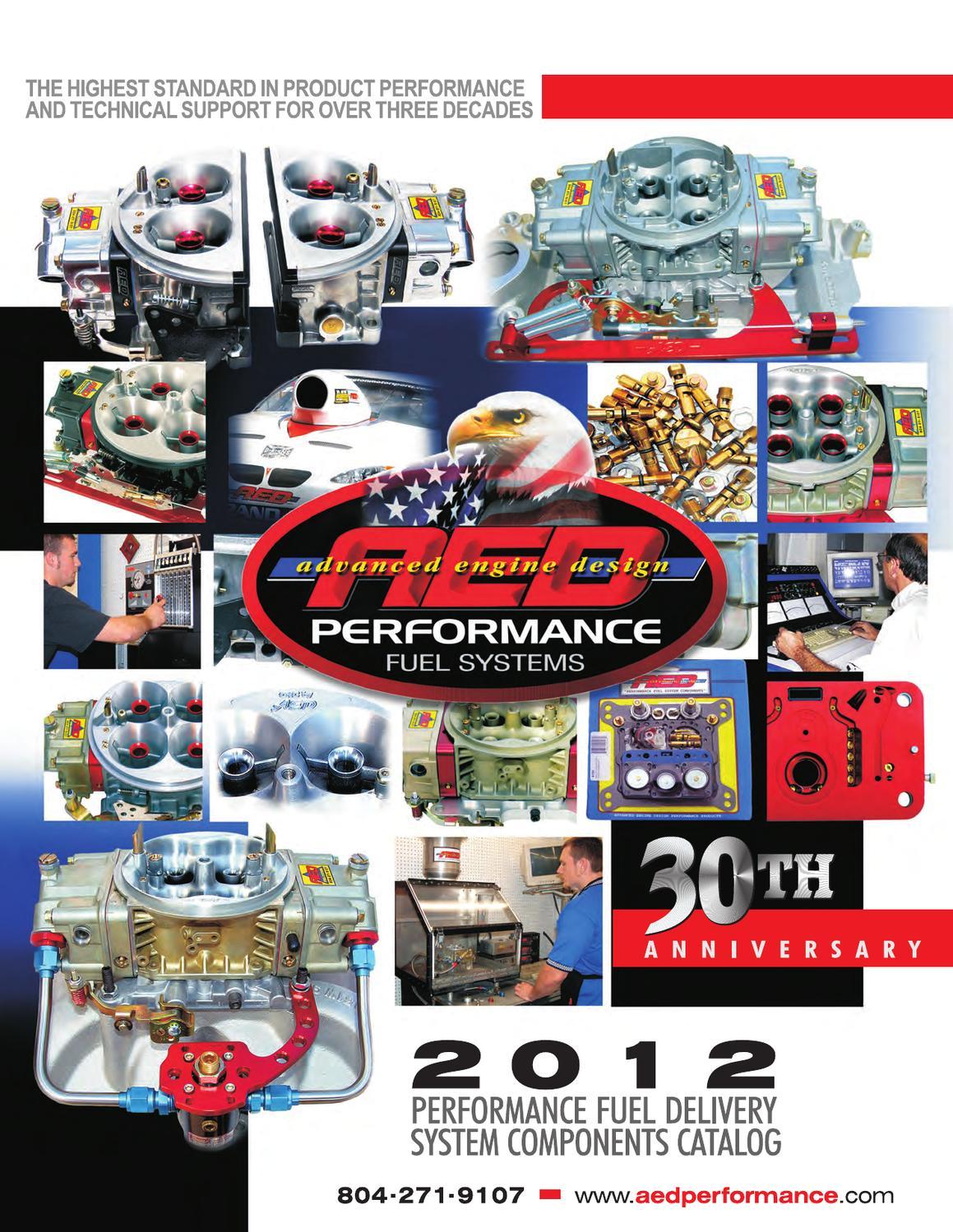 Advanced Engine Design 5350 Carburetor Float Side Hung Holley 4160 Carburetors