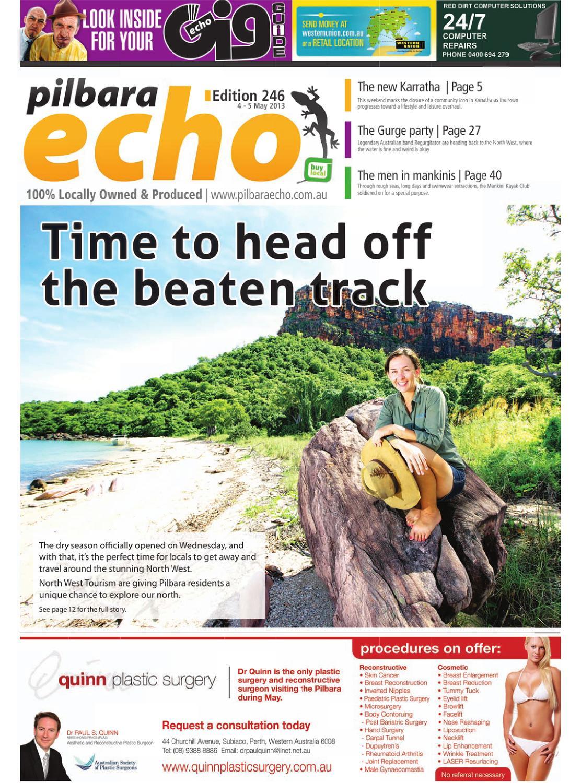 246_4May2013 by Pilbara Echo Newspaper - issuu