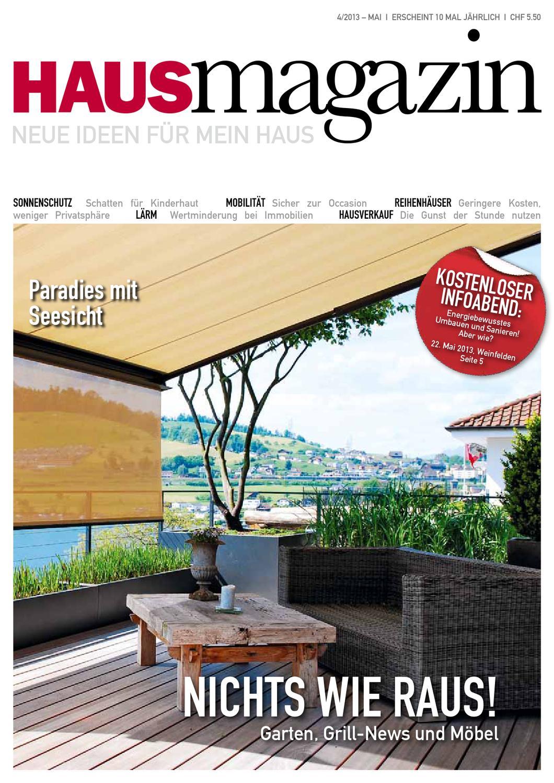HAUS MAGAZIN Ausgabe Nr. 04 | Mai by HAUS MAGAZIN - issuu