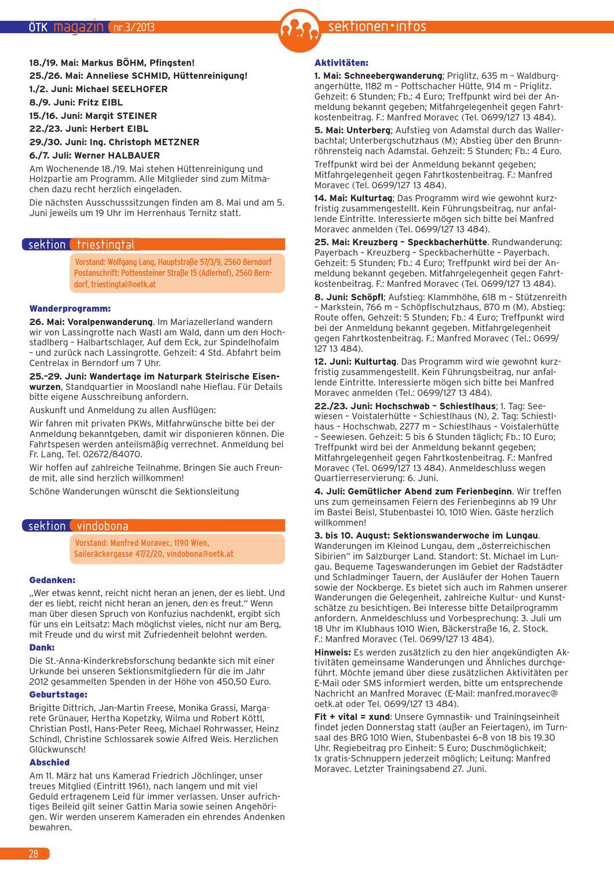 ÖTK Klubmagazin 3/2013 by ÖTK Österreichischer Touristenklub - issuu
