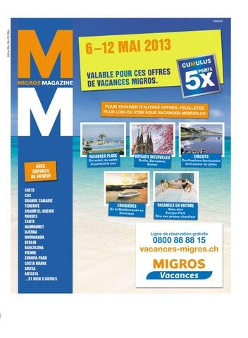 1117789e1794 Migros-Magazin-19-2013-f-BL by Migros-Genossenschafts-Bund - issuu