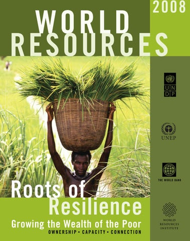 Roots of resilience -- Report by United Nations Development