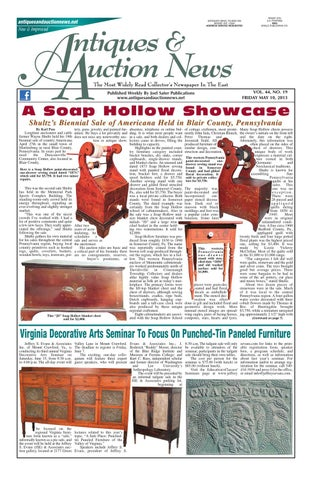 Antiques & Auction News by Antiques & Auction News issuu