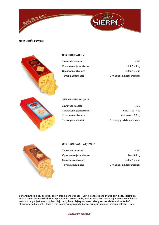 osm sierpc katalog produktow by produkty mleczne issuu