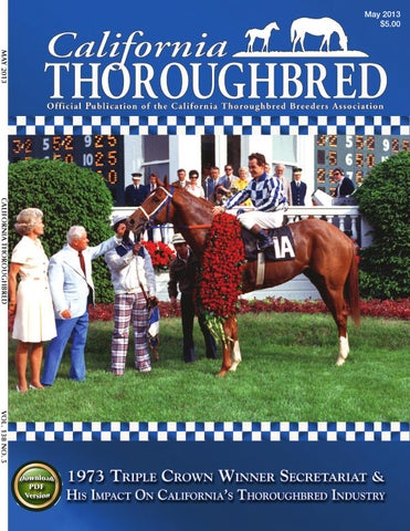 check out b4911 4e2c3 California Thoroughbred Magazine May 2013