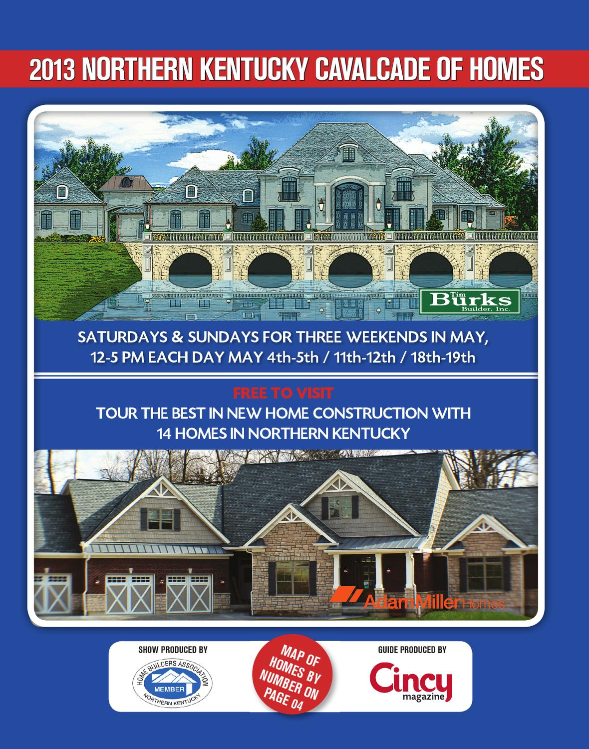 2013 northern kentucky cavalcade of homes by cincy for Kentucky home builders