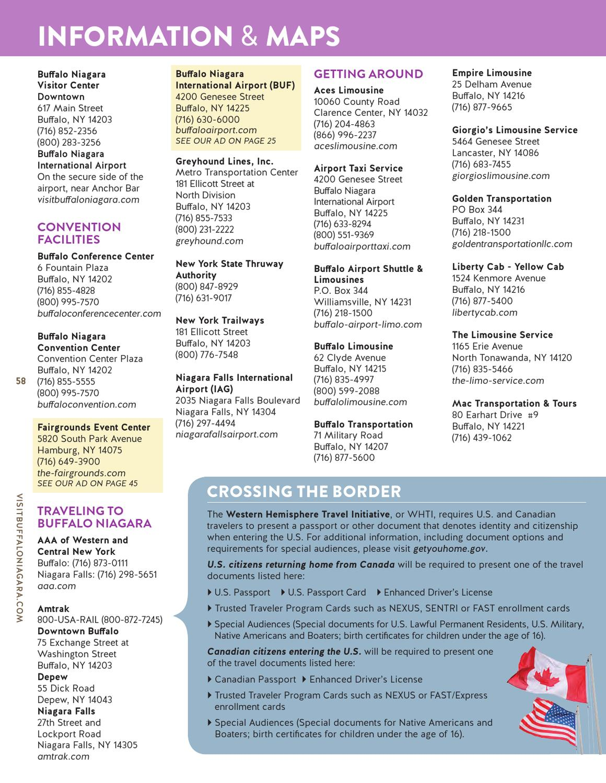 2013 14 Buffalo Niagara Visitor Guide By Matt Steinberg Issuu