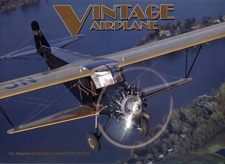 VA-Vol-25-No-12-Dec-1997 by EAA Vintage Aircraft Association