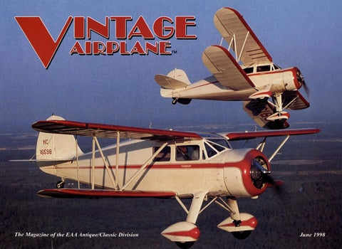 VA-Vol-26-No-6-June-1998 by EAA Vintage Aircraft Association - issuu