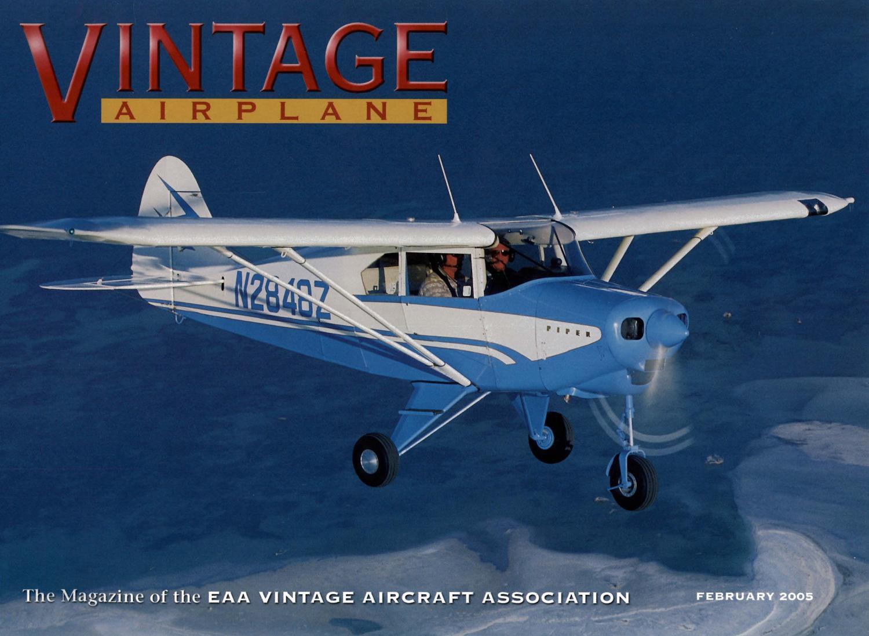 Va Vol 33 No 2 Feb 2005 By Eaa Vintage Aircraft Association Issuu Stoughton Trailer Wiring Diagram