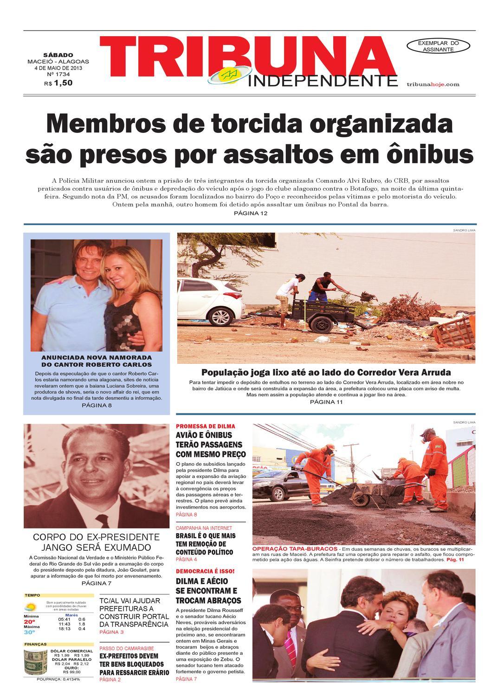 Edição número 1734 - 4 de maio de 2013 by Tribuna Hoje - issuu e5810880e38