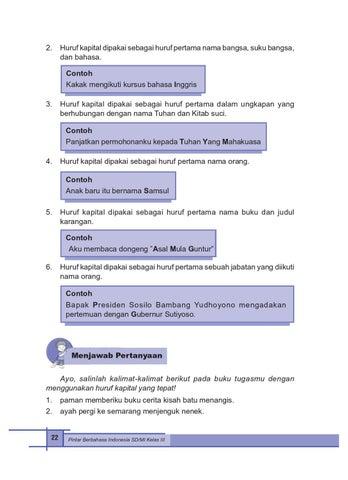 Kelas 3 Bahasa Indonesia Sri Hapsari By Yeti Herawati Issuu