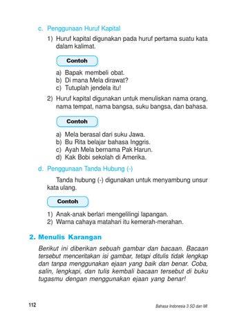 Kelas 3 Bahasa Indonesia Kaswan By Yeti Herawati Issuu
