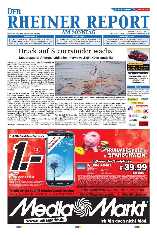 KW18-2013 by Rheiner Report GmbH - issuu