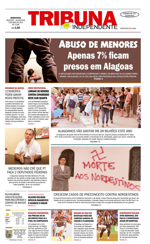 15f8690ddc7 Edição número 1735 - 5 de maio de 2013 by Tribuna Hoje - issuu