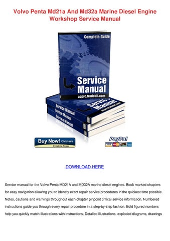 Md21a manual workshop manual md21a aqd32a marine diesel engines 1973 array volvo penta md21a and md32a marine diesel eng by majorie venneri issuu rh issuu fandeluxe