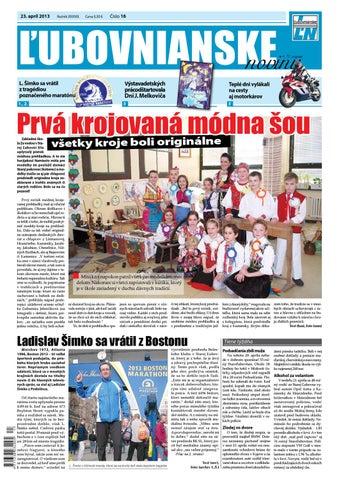 c99390ca9 Ľubovnianske noviny č. 16 by Vladimir Zima - issuu