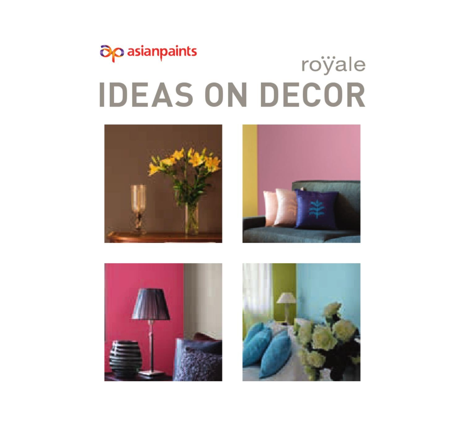 ideas on decor book webasian paints limited - issuu