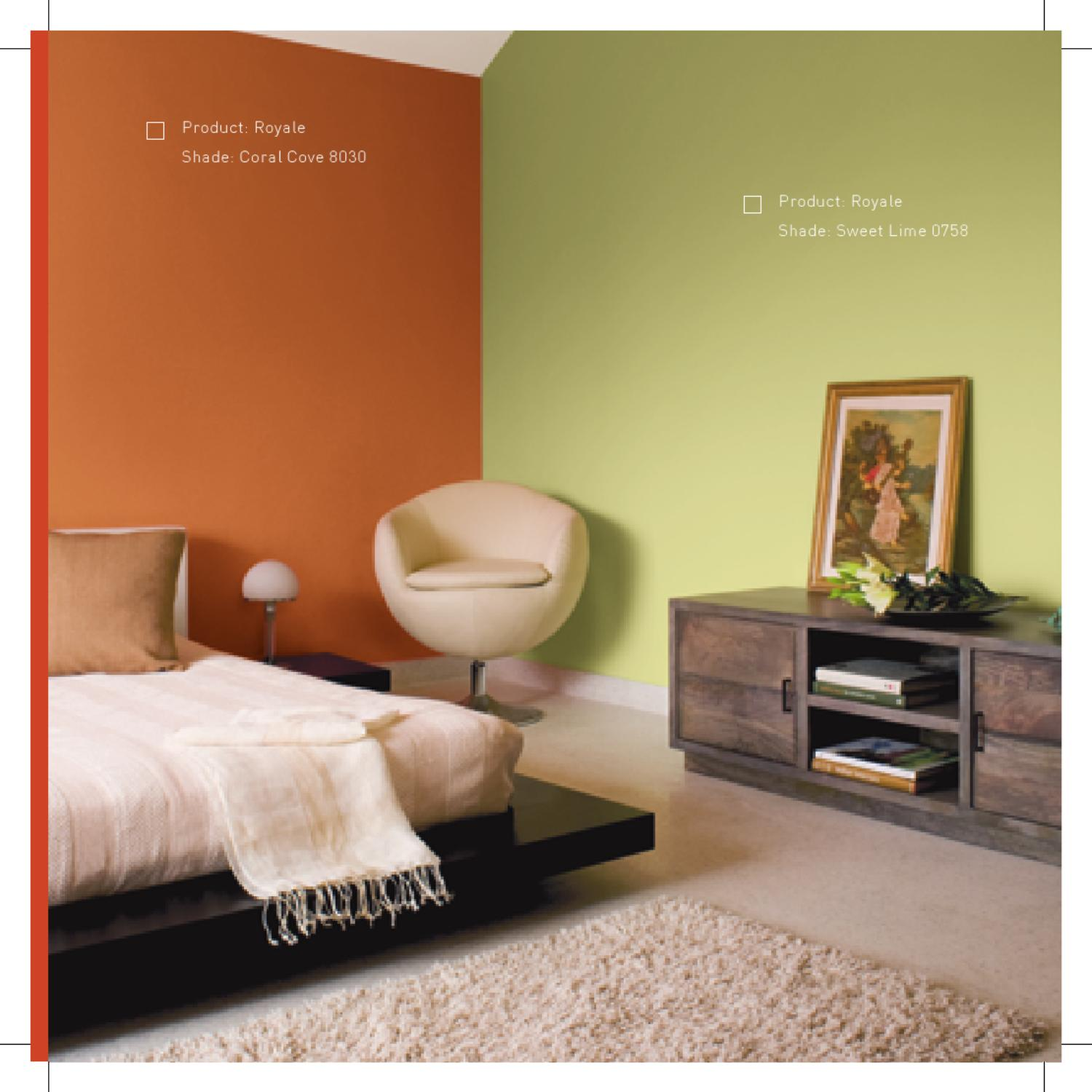 Ideas on decor book web by asian paints limited issuu for Asian paints home decoration