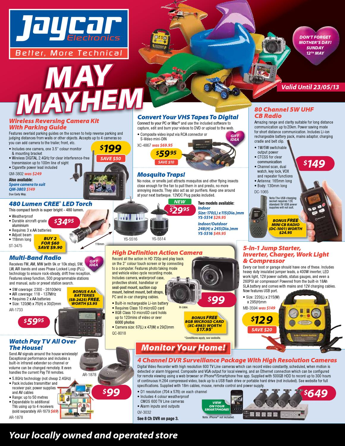 Jaycar Catalogue By Hitechsolutionsnq Issuu Solid State Relay