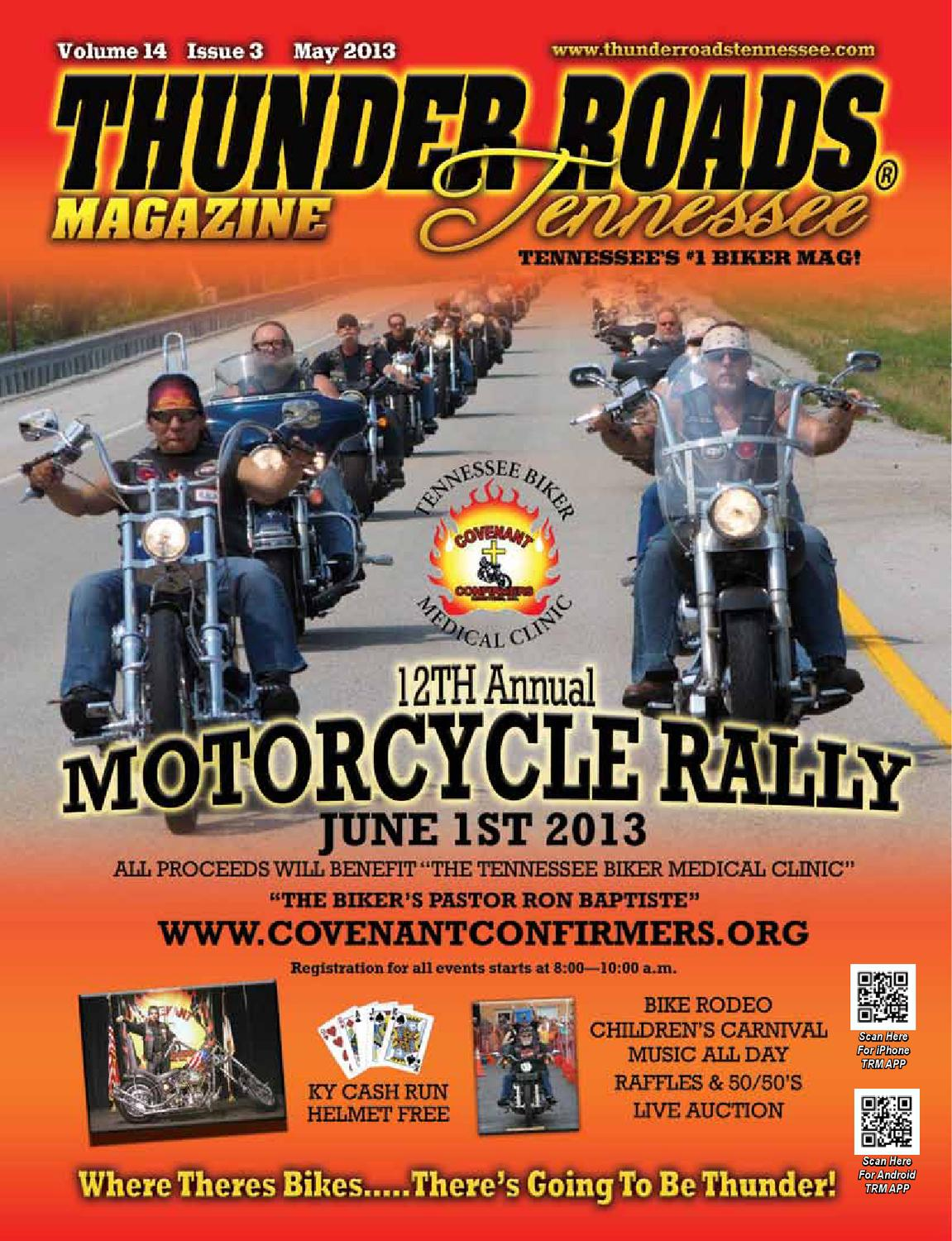 Thunder Roads Magazine Tennessee May 2013 by Thunder Roads