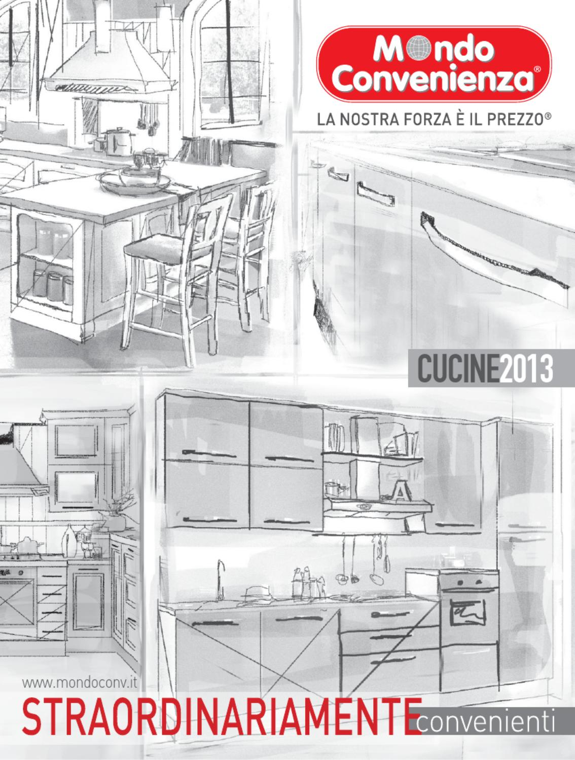 Mondo Convenienza catalogo Cucine 2013 by CatalogoPromozioni.com ...