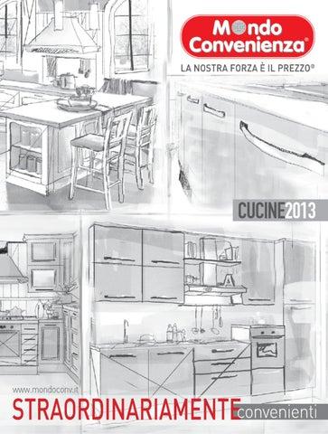 Mondo convenienza catalogo cucine 2013 by issuu - Altezza zoccolo cucina ...
