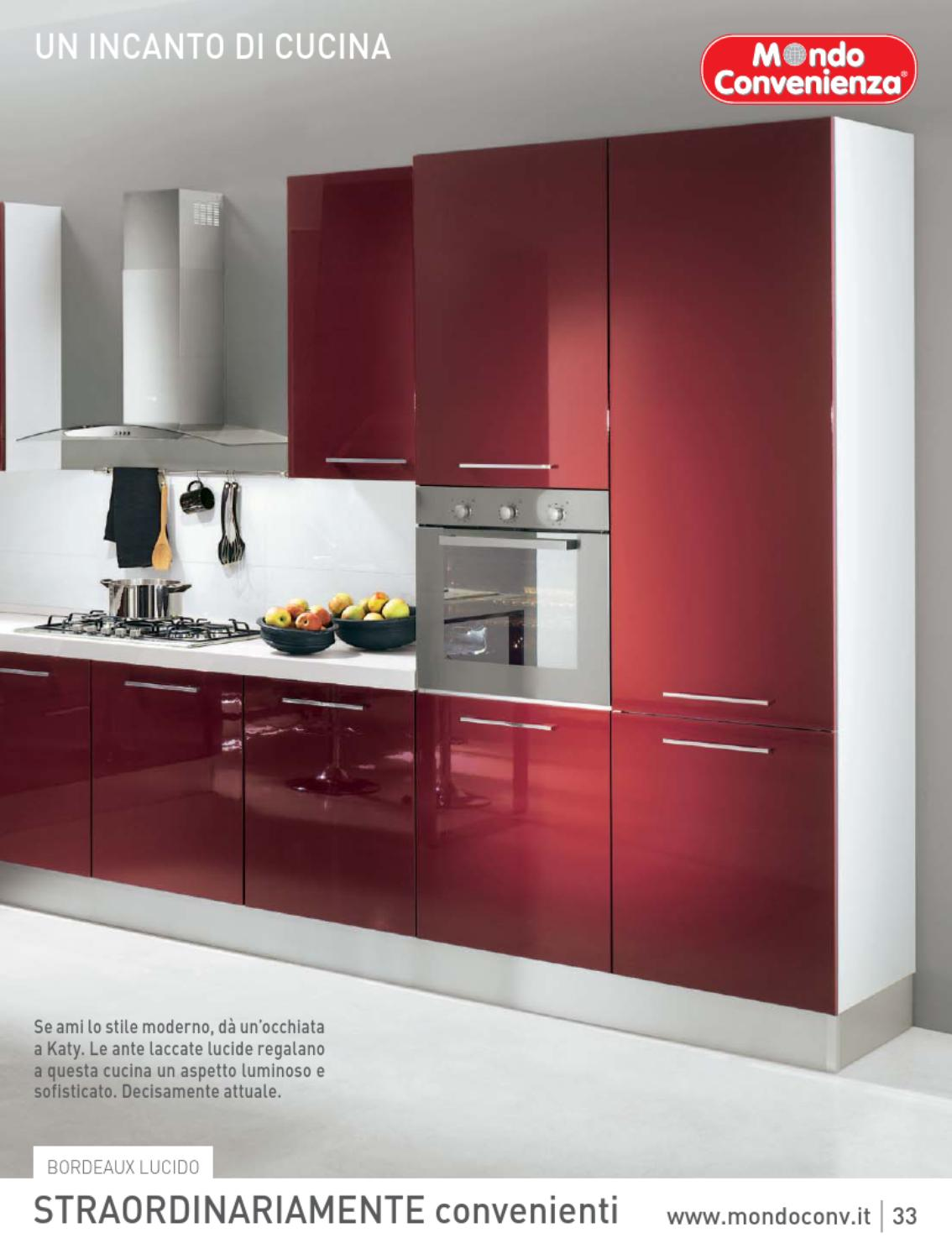 mondo convenienza catalogo cucine 2013 by