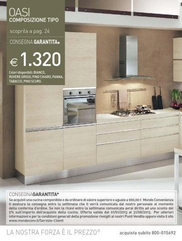 Mondo Convenienza catalogo Cucine 2013 by CatalogoPromozioni ...