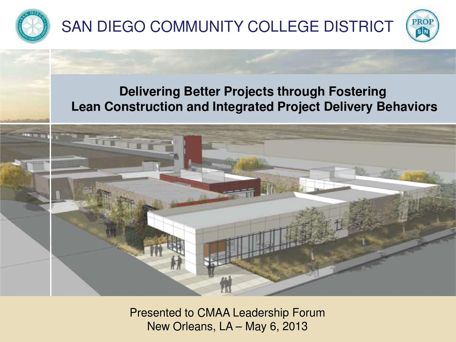 Lean Construction Wikipedia - Delivering better projects through lean construction and integrated project delivery behaviors by san diego community college district issuu