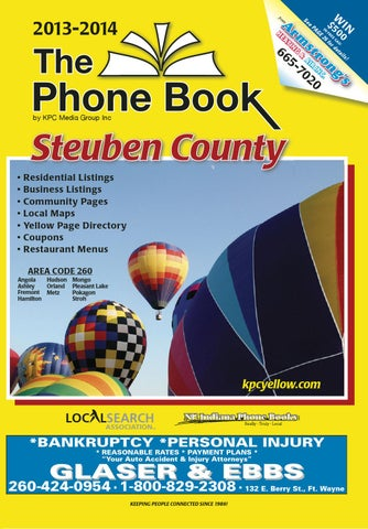 af5d64bf683 Steuben County Yellow Pages - 2013 by KPC Media Group - issuu