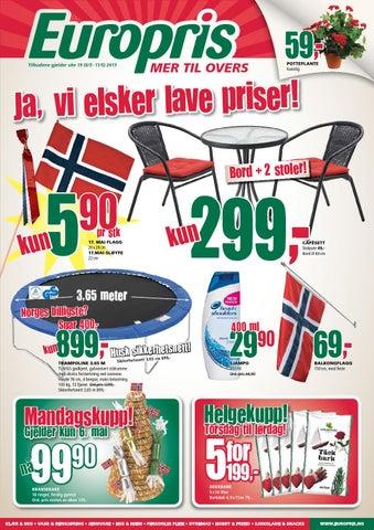 Alvorlig Europris tom 11mai by Postkassereklame.no - issuu CQ-05