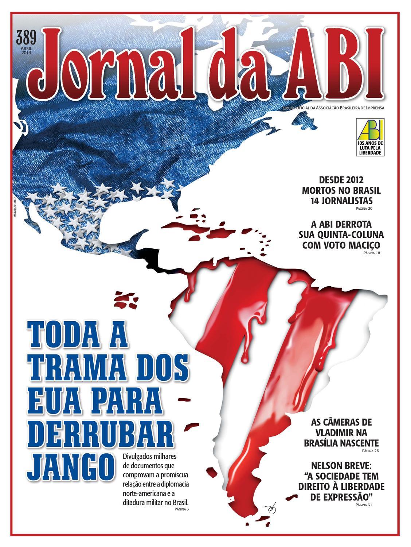 Jornal da ABI 389 by Francisco Ucha - issuu 5dce8eb1f16ba