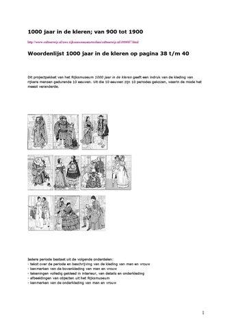 6db41ba4ad2df7 1000 jaar in de kleren  van 900 tot 1900  http   www.cultuurwijs.nl nwc.rijksmuseumamsterdam cultuurwijs.nl i000687.html