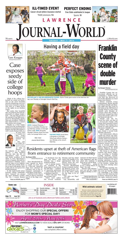 Lawrence Journal-World 05-07-13 by Lawrence Journal-World - issuu