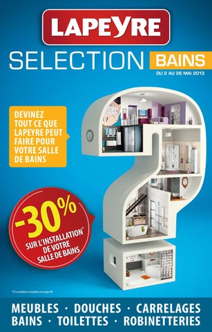 Lapeyre catalogue bains 2 26 mai 2013 by promocatalogues for Lapeyre creatis