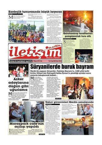 7 Mayis 2013 Sali Gazete Sayfalari By Mardin Iletisim Gazetesi Issuu