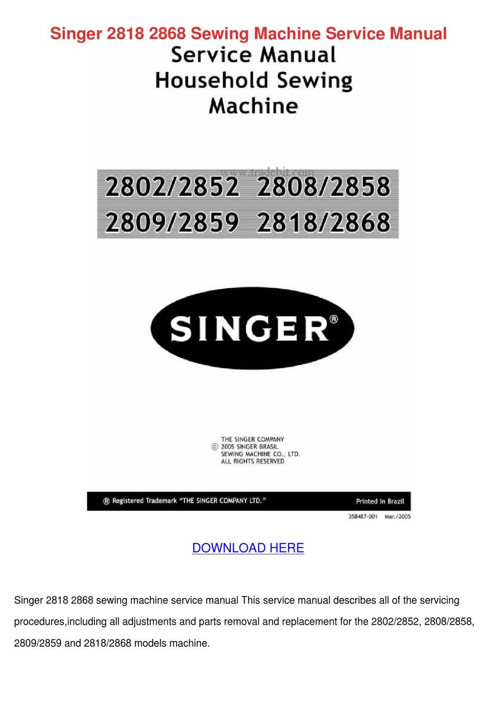 singer sewing machine model 93220